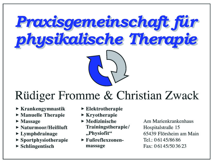 Physiotherapie Fromme & Zwack