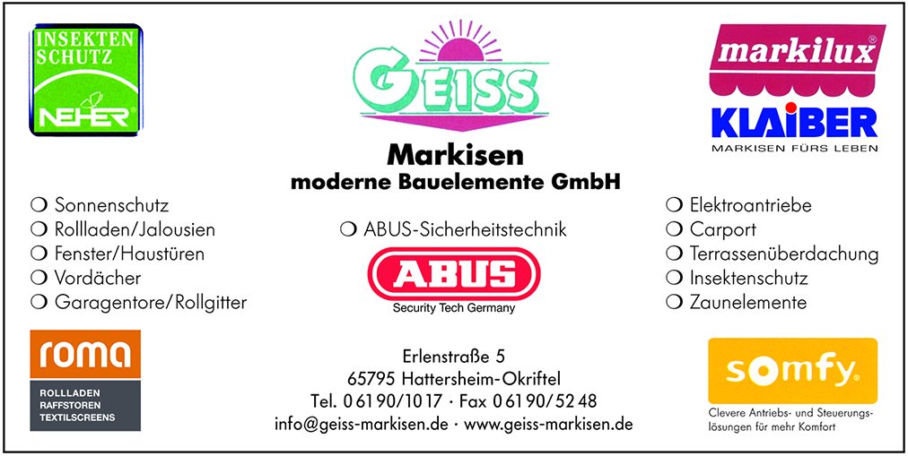 Geiss Markisen